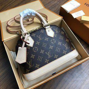 Louis 🍓Vuitton Alma BB Handbag Monogram Canvas